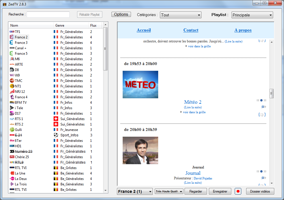 zedtv windows 7